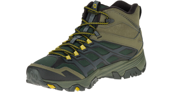 Merrell M's Moab FST Ice+ Thermo Shoes Pine Grove/Dusty Olive